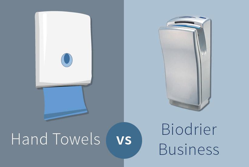 Biodrier vs hand towels
