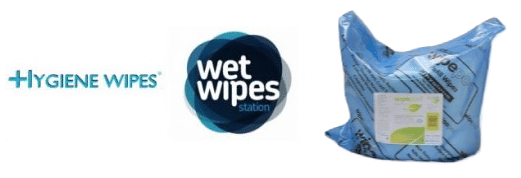 Hygiene wipes and wet wipes